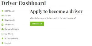 Delivery Driver for WooCommerce - Apply to be a driver